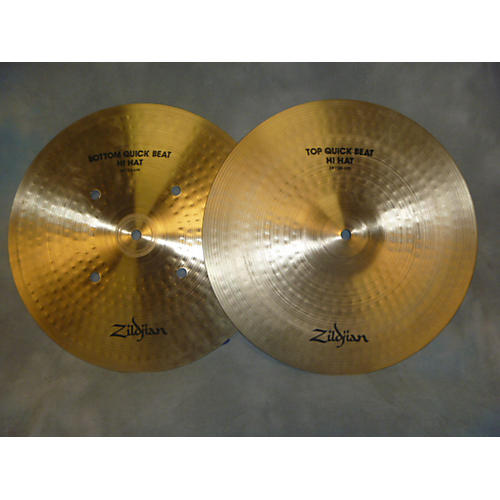 Zildjian 14in Quick Beat Hi Hat Pair Cymbal