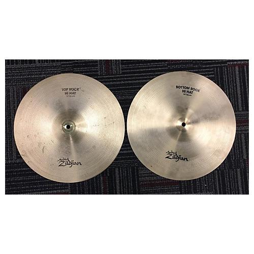 Zildjian 14in Rock Hi Hat Pair Cymbal-thumbnail