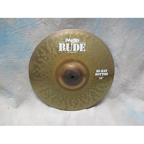 Paiste 14in Rude Hi Hat Bottom Cymbal