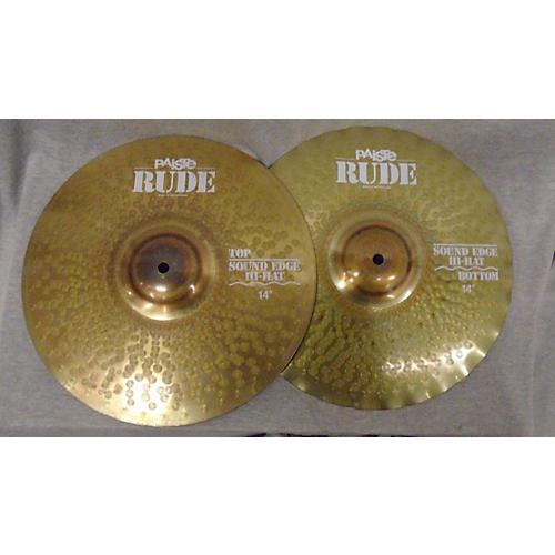 Paiste 14in Rude Hi Hat Pair Cymbal-thumbnail