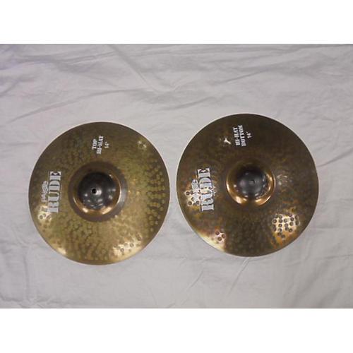 Paiste 14in Rude Hi Hat Pair Cymbal