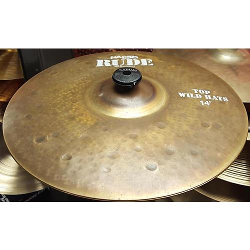 Paiste 14in Rude Wild Hats Cymbal