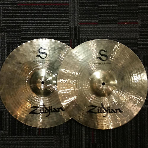Zildjian 14in S Mastersound Hi Hats Cymbal-thumbnail