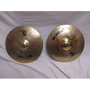 Pre-owned Wuhan 14 inch S Series Hi Hat Pair Cymbal by Wuhan