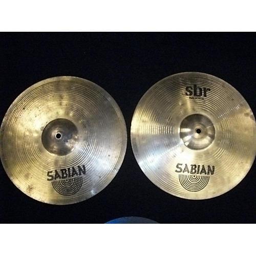 Sabian 14in SBR Hi Hat Pair Cymbal-thumbnail