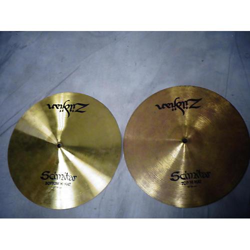 Zildjian 14in Scimitar Hi Hat Pair Cymbal-thumbnail