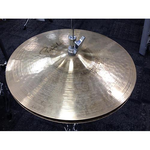 Paiste 14in Signature Medium Hi Hat Pair Cymbal-thumbnail
