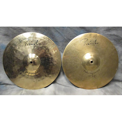 Paiste 14in Signature Reflector Crisp Hi Hat Pair Cymbal-thumbnail