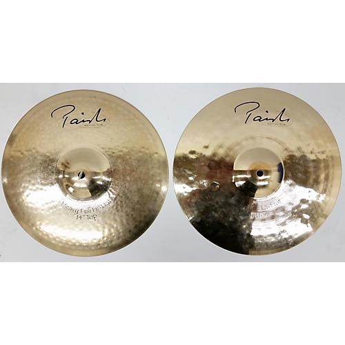 Paiste 14in Signature Reflector Hi Hat Pair Cymbal-thumbnail