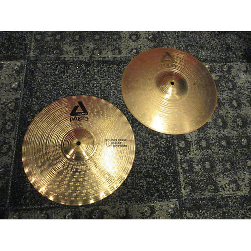 Paiste 14in Signature Sound Edge Hi Hat Pair Cymbal-thumbnail