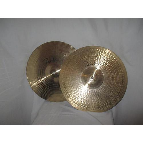 Paiste 14in Signature Sound Edge Hi Hat Pair Cymbal