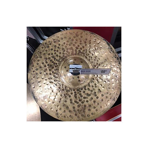 Paiste 14in Signature Traditional Medium Light Hi Hats Bottom Cymbal