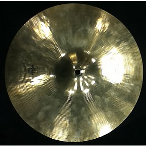 Pre-owned Wuhan 14 inch THIN CRASH Cymbal by Wuhan