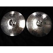 Paiste 14in TWENTY CUSTOM FULL HATS Cymbal