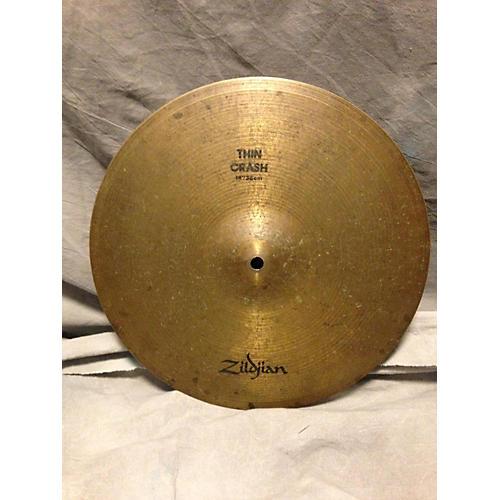 Zildjian 14in Thin Crash Cymbal