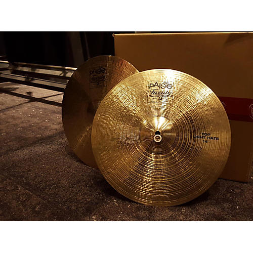 Paiste 14in Twenty Light Hi Hat Pair Cymbal-thumbnail