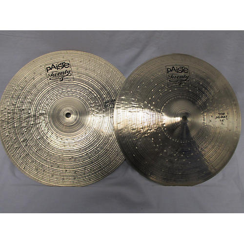 Paiste 14in Twenty Series Hi Hat Pair Cymbal-thumbnail
