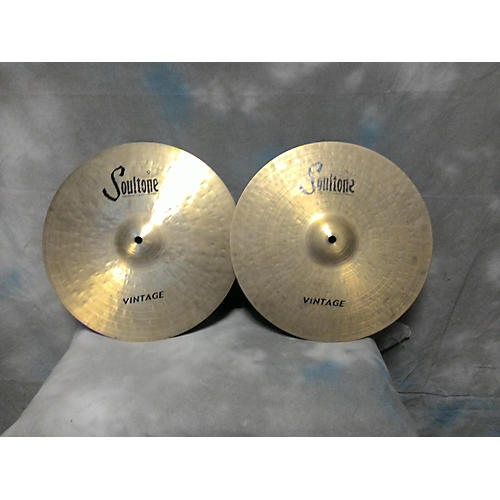 Soultone 14in Vintage Hi-hat Cymbal-thumbnail