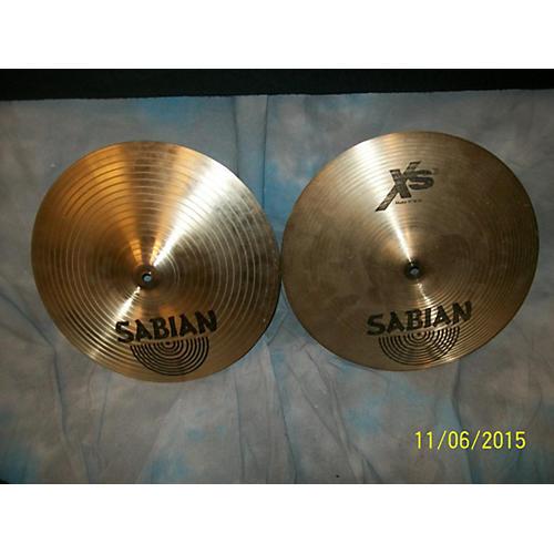 Sabian 14in XS20 Hi Hat Pair PERC CYMBALS HI-HAT