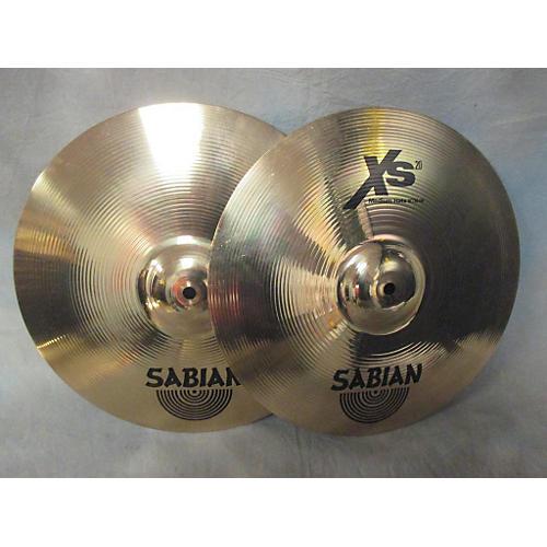 Sabian 14in XS20 Medium Hi Hat Pair Cymbal-thumbnail