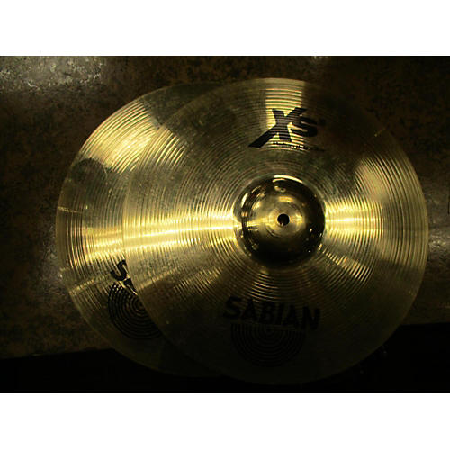 Sabian 14in XS20 Medium Hi Hat Pair Cymbal-thumbnail