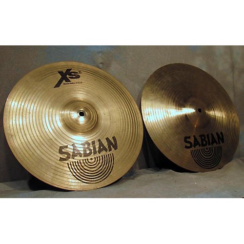 Sabian 14in XS20 Rock Hi Hat Pair Cymbal