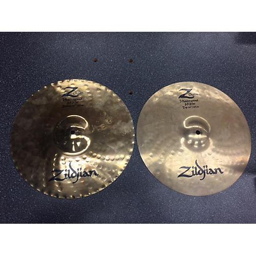 Zildjian 14in Z CUSTOM MASTERSOUND HI HAT Cymbal