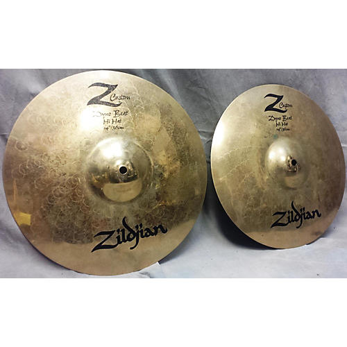Zildjian 14in Z Custom Dyno Beat Hi Hat Cymbal-thumbnail