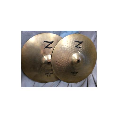 Zildjian 14in Z Custom Dyno Beat Hi Hat Cymbal-thumbnail