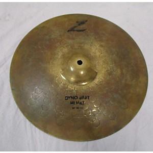 Pre-owned Zildjian 14 inch Z Custom Dyno Beat Hi Hat Cymbal