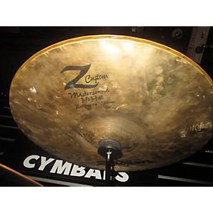 Pre-owned Zildjian 14 inch Z Custom Hi Hat Bottom Cymbal by Zildjian