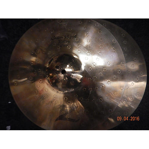 Zildjian 14in Z Custom Hi Hat Pair Cymbal