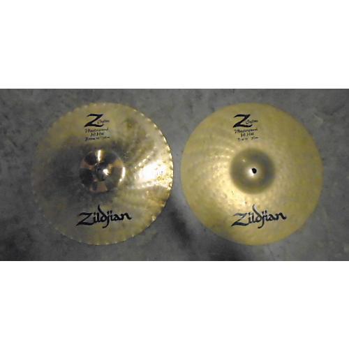 Zildjian 14in Z Custom Hi Hat Pair Mastersound Cymbal