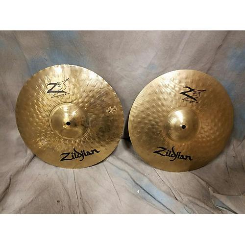Zildjian 14in Z3 Mastersound Hi Hat Pair Brilliant Cymbal-thumbnail