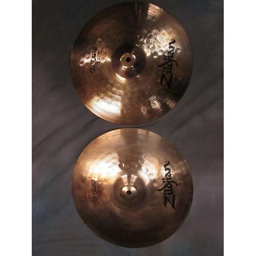 Zildjian 14in ZBT Plus Rock Hi Hats Pair Cymbal-thumbnail
