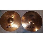 Zildjian 14in ZBT Plus Rock Hi Hats Pair Cymbal