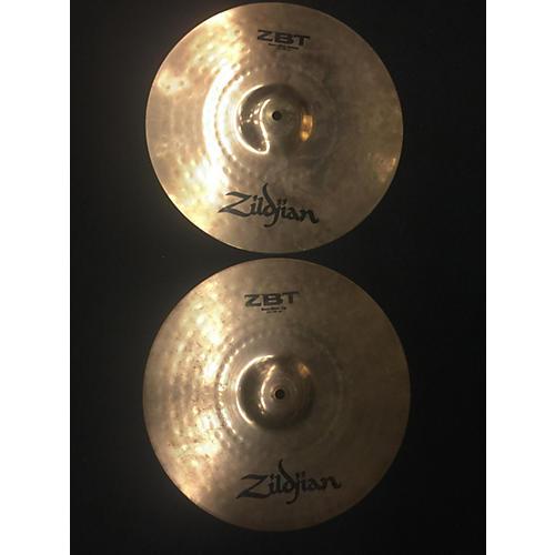 Zildjian 14in ZBT Rock Hi Hat Pair Cymbal-thumbnail