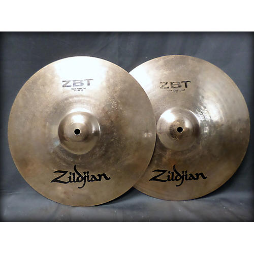 Zildjian 14in ZBT Rock Hi Hat Pair Cymbal-thumbnail