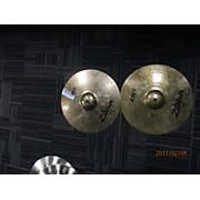 Zildjian 14in ZBT Rock Hi Hat Pair Cymbal