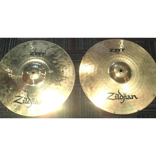Zildjian 14in ZBT Rock Hi Hat Pair Cymbal