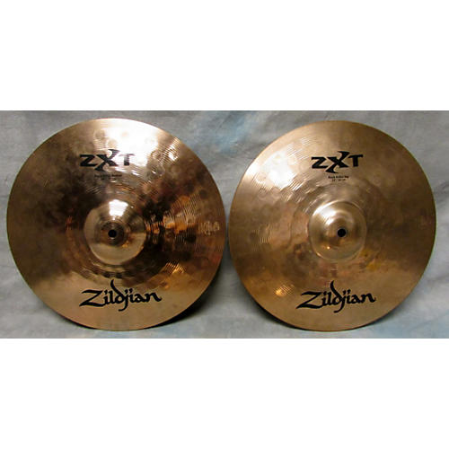 Zildjian 14in ZXT ROCK Hi Hat Pair Cymbal-thumbnail