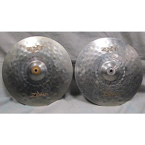 Zildjian 14in ZXT Rock HiHat Pair Cymbal-thumbnail