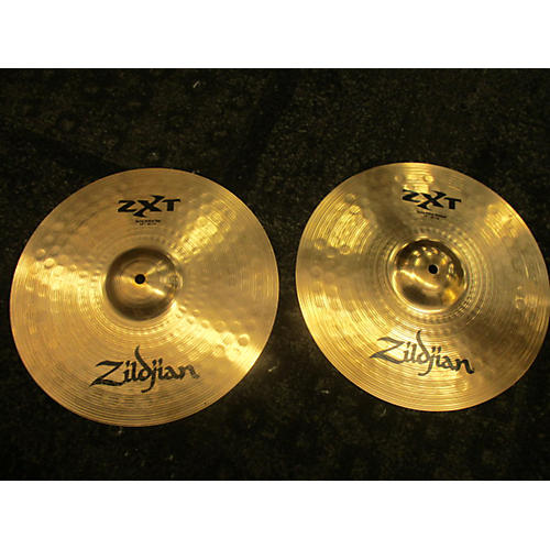 Zildjian 14in ZXT Solid Hi Hat Pair Cymbal-thumbnail