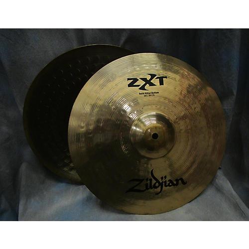 Zildjian 14in ZXT Solid Hi Hat Pair Cymbal-thumbnail