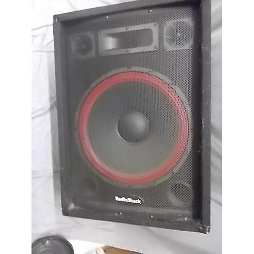 speakers radio shack. radio shack 15 inch speaker unpowered speakers h