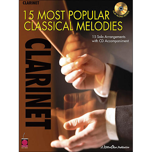 Cherry Lane 15 Most Popular Classical Melodies for Clarinet Book/CD-thumbnail