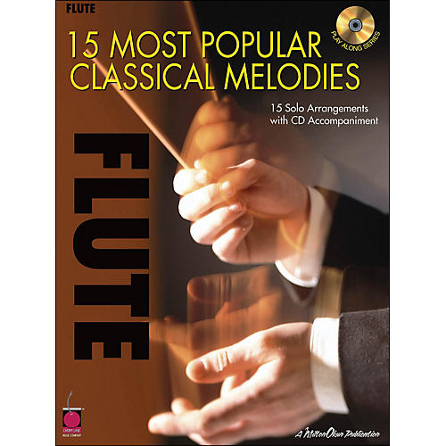 Cherry Lane 15 Most Popular Classical Melodies for Flute Book/CD-thumbnail