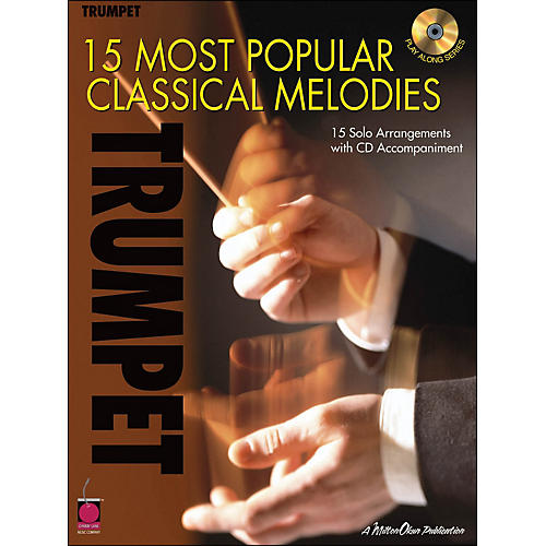 Cherry Lane 15 Most Popular Classical Melodies for Trumpet Book/CD-thumbnail