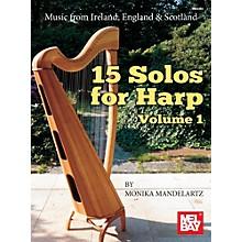 Mel Bay 15 Solos for Harp Volume 1