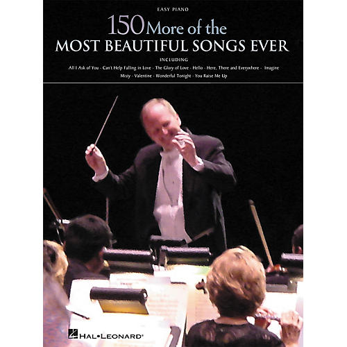 Hal Leonard 150 More of the Most Beautiful Songs Ever Songbook - Easy Piano-thumbnail